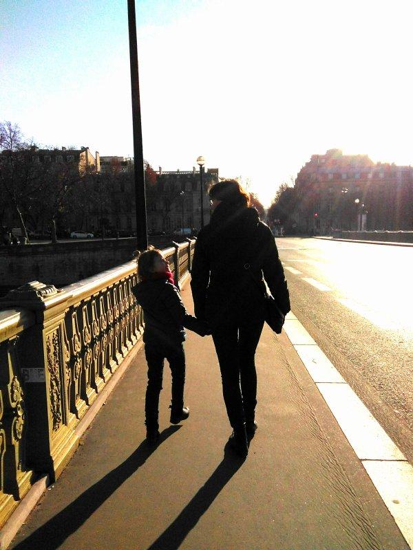 Paris, la ville des amoureux...