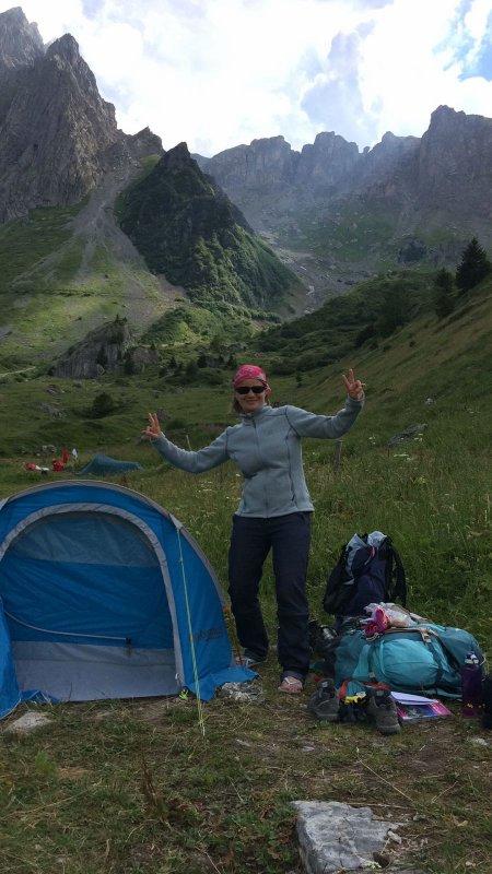 tour du Mont blanc cet été en zamoureuses
