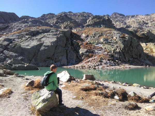 randonnée du lac Blanc en été