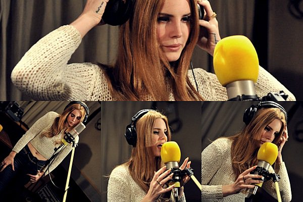 ** 25 Janvier 2012 : Dans les studios de la BBC Radio 1. **