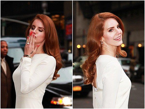 ** Lana Del Rey pour VOGUE. **