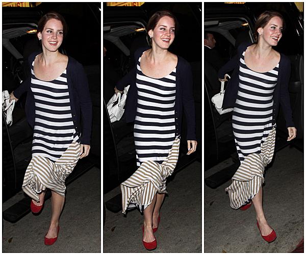 ** 2 Mars 2012 : Lana encore et toujours au chateau Marmont à hollywood. **
