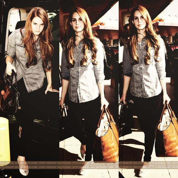 **  23 Mars 2012 : Lana quitte l'Allemagne, départ à l'aéroport de Berlin . **
