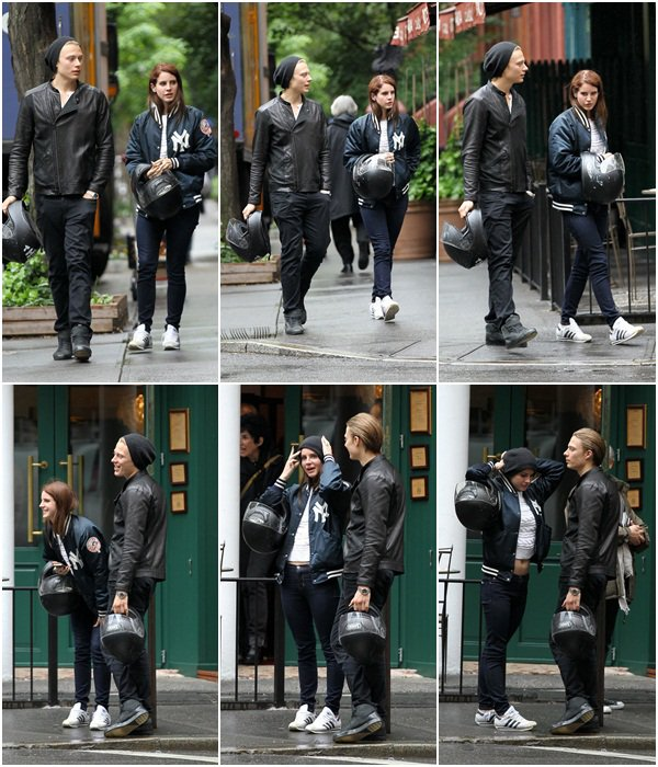 **  03 Mai 2012 : Lana allant déjeuner avec Josh Rachlin. **