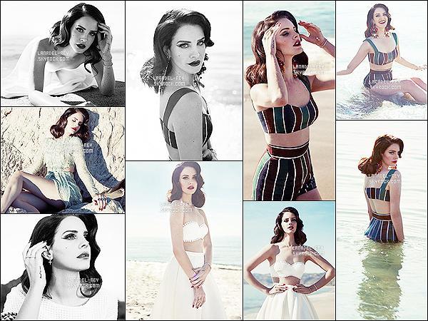 De nouveaux outtakes de Lana Del Rey pour Fashion Magazine viennent d'apparaître par les photographes Mark Williams et Sara Hirakawa.