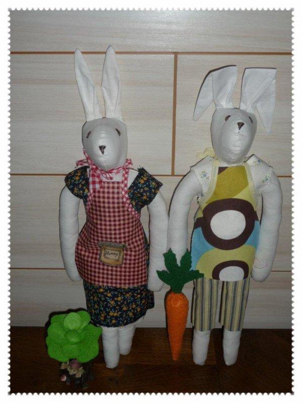 Mr et Mme LAPIN les jardiniers