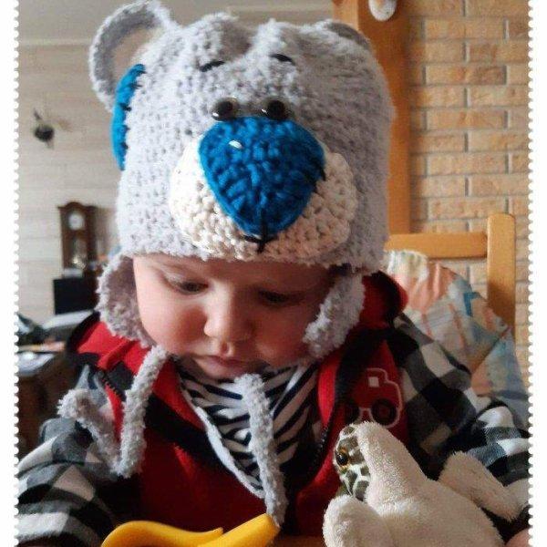 un bonnet pour mon petit fils