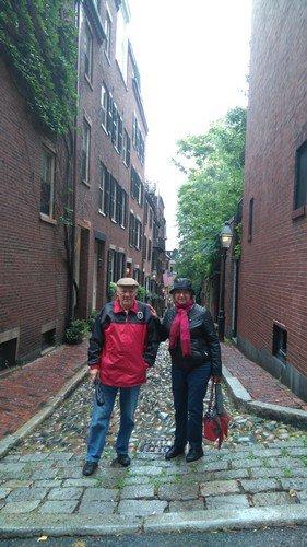 Visite de Boston sous le vent