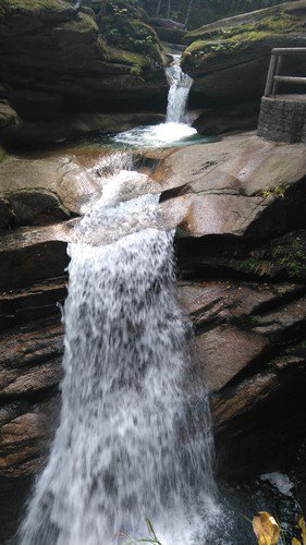 7 octobre: Photos de Flume Gorge