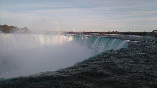 10 septembre les Chutes du Niagara