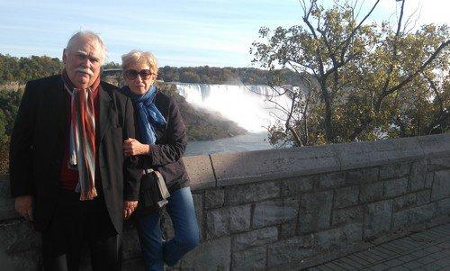 En route vers les chutes du Niagara