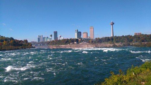 les Chutes du Niagara côté Américain