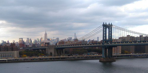13 octobre, le PONT DE BROOKLYN