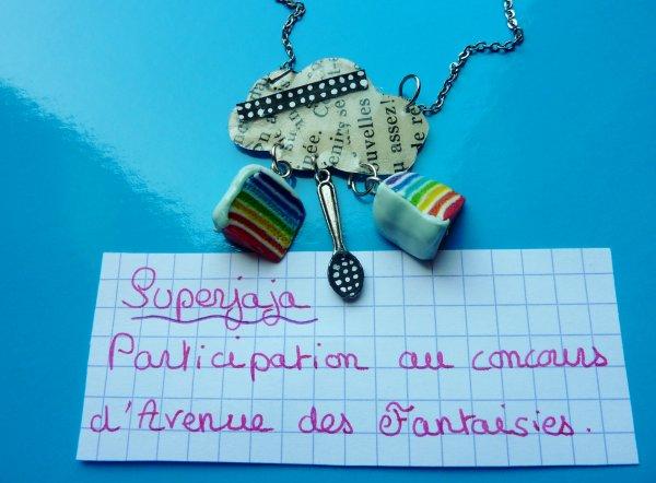 ma participation au concours d'Avenue-desFantaisies ♥