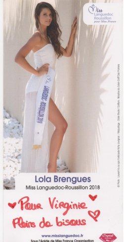 Miss languedoc roussillon 2018