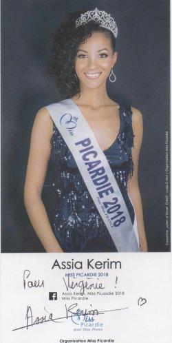 Miss picardie 2018