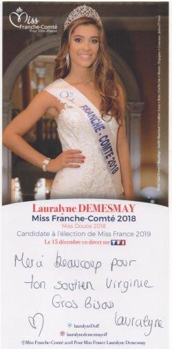 Miss Franche Comté 2018
