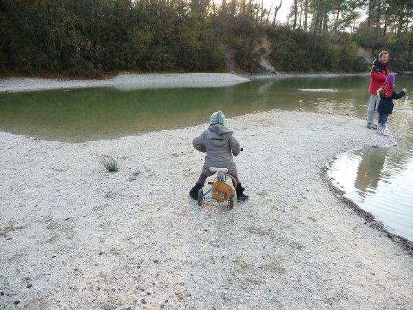 Un dimanche au bord du lac ....