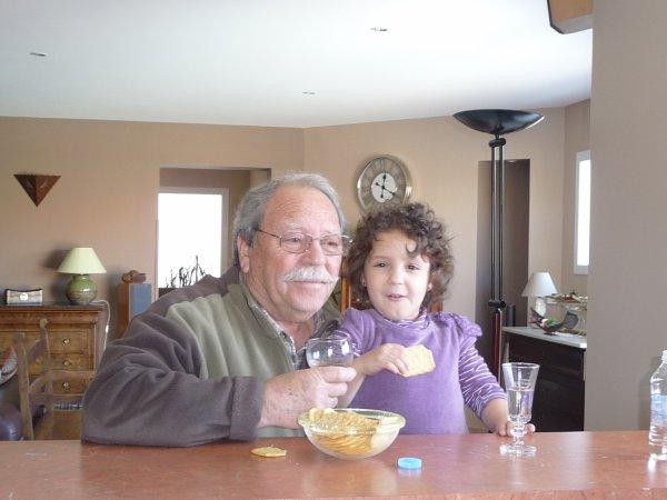 Apéro avec Papy