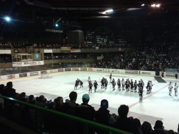 Semaine normale .....et match de hockey