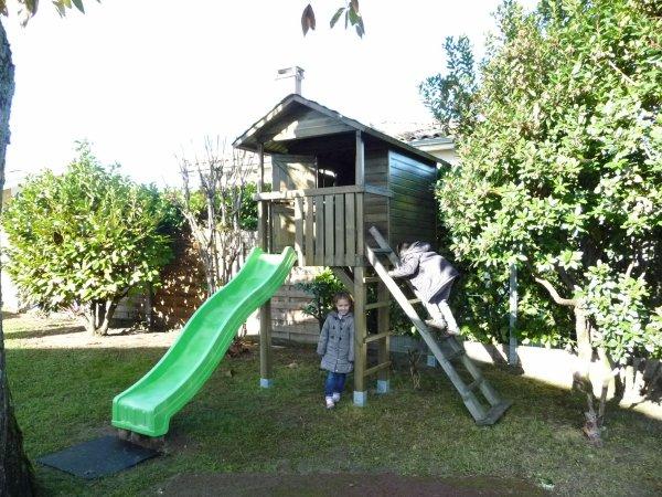 Ma cabane dans mon jardin ...