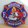 PATCH DE HOUSTON STATION  26 (TEXAS)