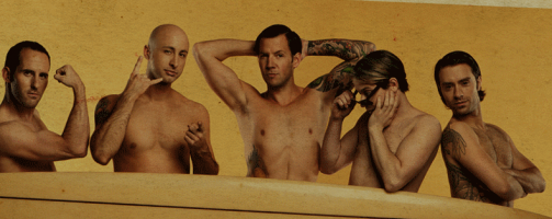 simple plan sans chandail