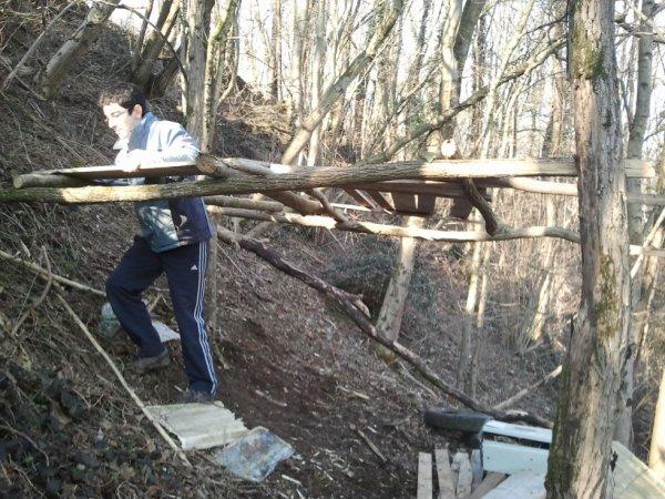 6) cabane avec Lucas