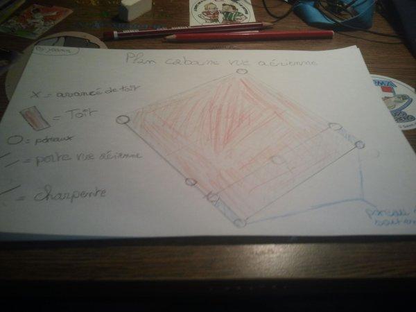 Plan Cabane 6 Vue aérienne