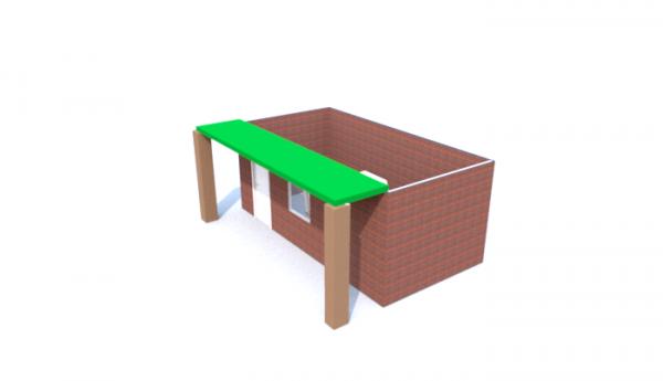 Cabane 6 ( plan 3D par Sweet home 3D )