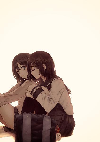 Ma copine et moi >w< ♥