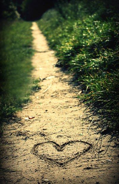 le chemin de l amour