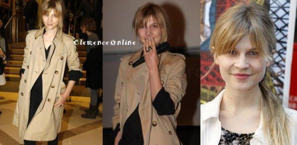 Clémence au 13e Festival du film francophone, Jour 1 (26 Mars)