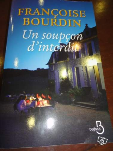 « Un soupçon d'interdit. » de Françoise Bourdin