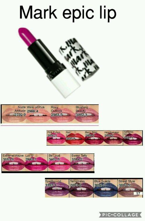 Mark epic lipstick