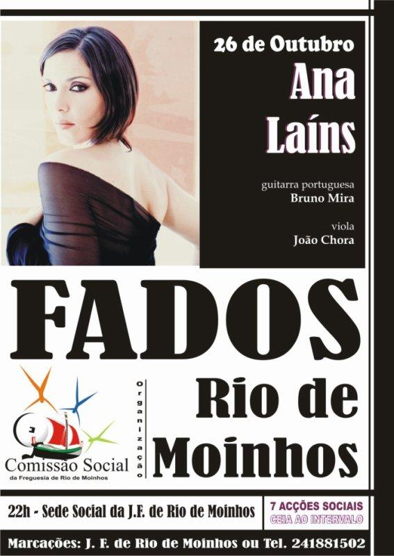 FADOS EM RIO DE MOINHOS ... com ANA LAINS