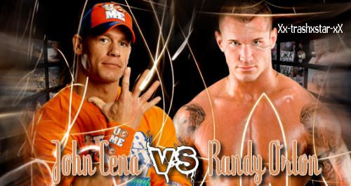 Jonh Cena Vs Randy Orton
