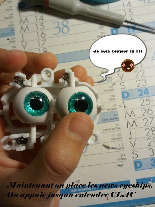 Changer les eyeships d'une pullip : le tuto ! (partie 2)