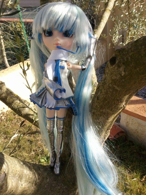 séance photo de Lou : Dans l'olivier...