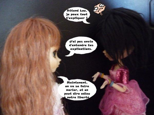 Chapitre 1 de la fic Princesse Rebelles (suite 2)