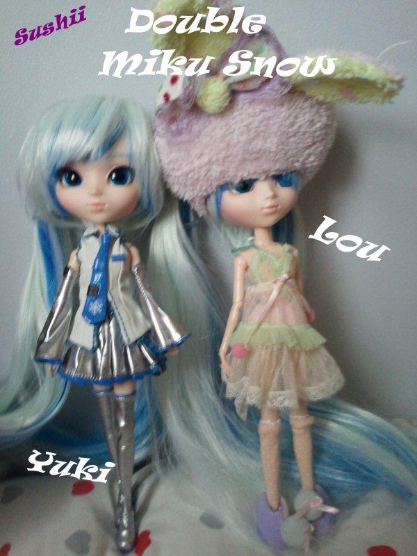 Mini rencontre avec Léa et Carla (pullip31) suite