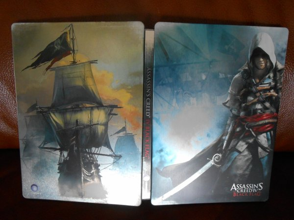 ASSASSIN'S CREED IV BLACK FLAG EDITION STEELBOOK PS4