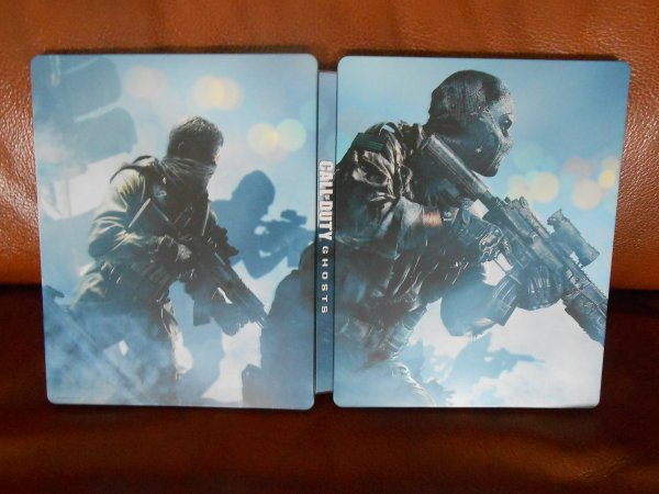 CALL OF DUTY: GHOSTS EDITION STEELBOOK PS4