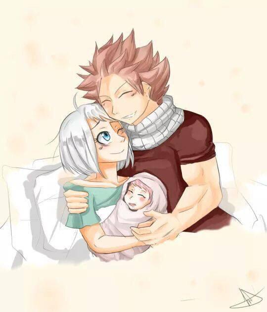 Notre Enfant à Lisanna et à moi :3