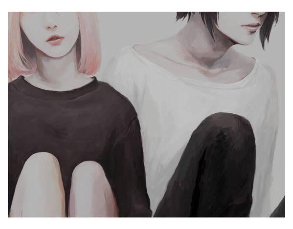 • Deux mondes différents... de Méli-Chan •