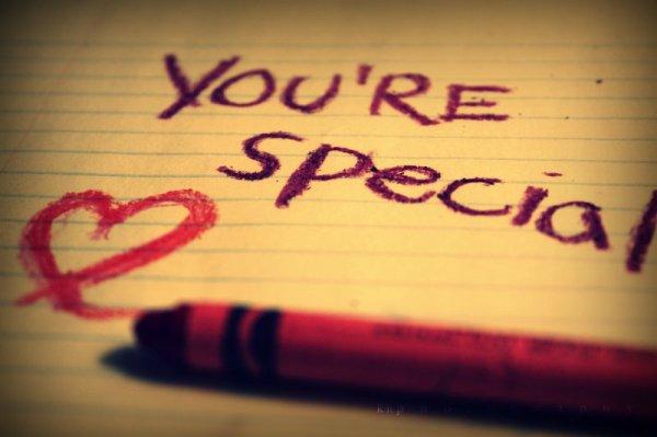 you're soooooooo special $$