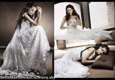 Robe de mariee bella twilight