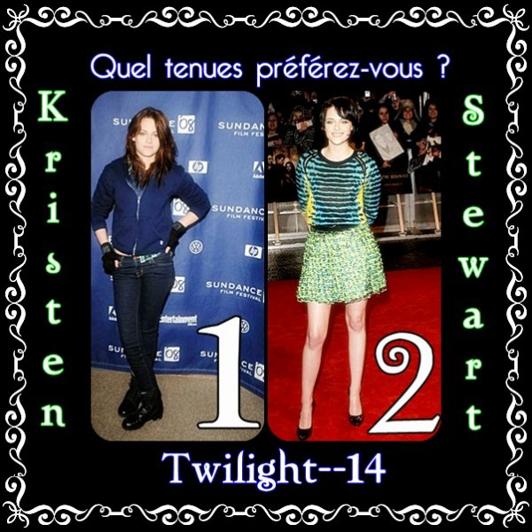 Quel tenues de Kristen Stewart préférez-vous?  (1)