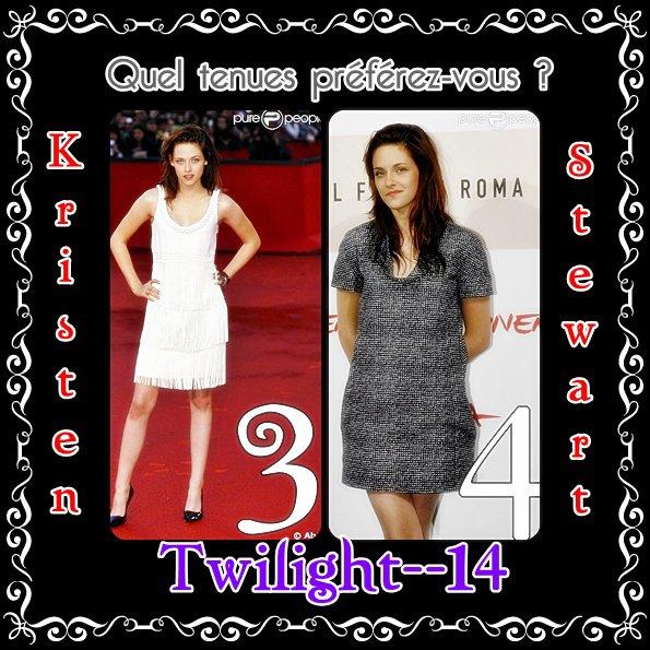 Quel tenues de Kristen Stewart préférez-vous?  (2)