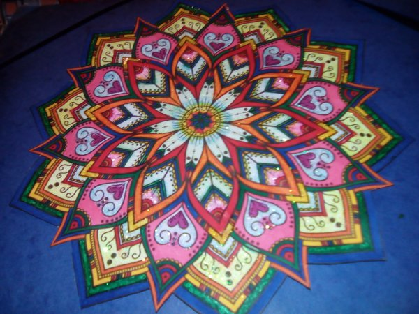 Mandala brillant